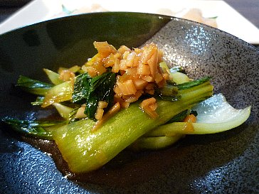 091025青梗菜の中華蒸し