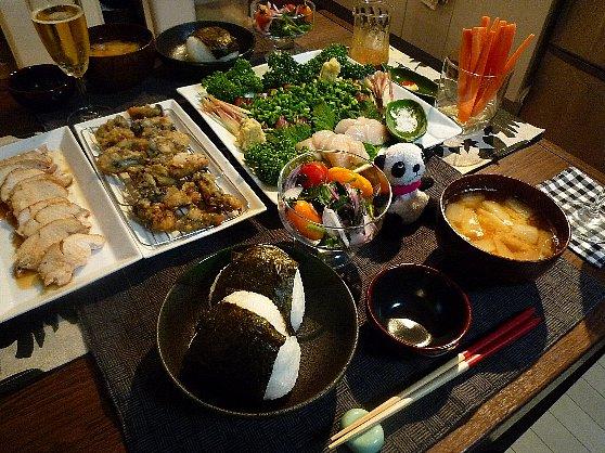 091113とちゃ誕生日会の料理