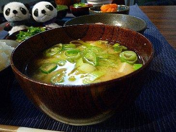 091129豆腐の味噌汁