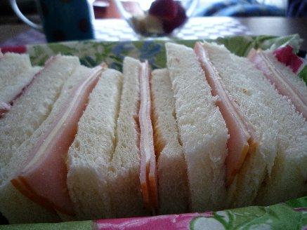 100116ハムチーズサンド