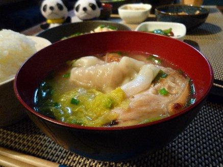 100118水餃子スープ