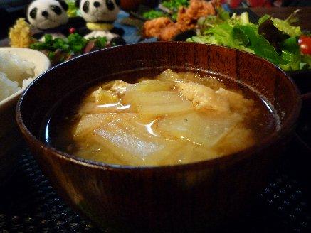100221味噌汁