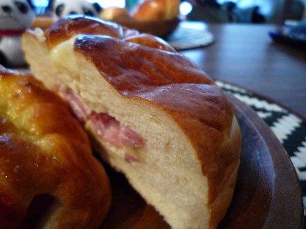 100227ベーコンチーズパン