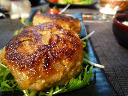 100501キムチ豆腐バーグ