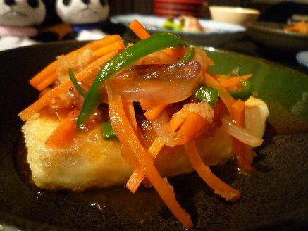 100511豆腐ステーキ