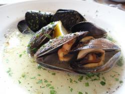 ムール貝の黒こしょう風味