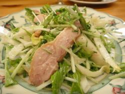 和梨入りサラダ