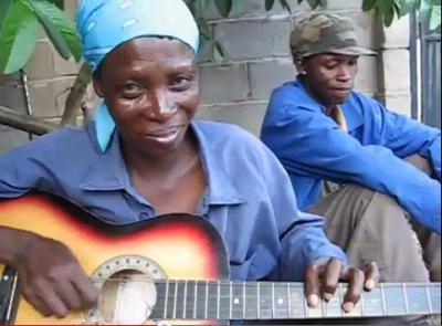 ボツワナのギター