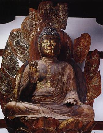 南明寺釈迦如来像