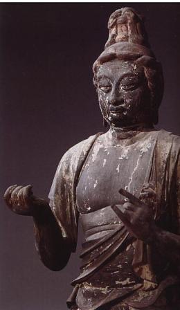 秋篠寺帝釈天像