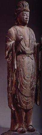 秋篠寺日光菩薩像