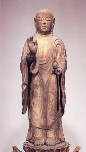 金剛山寺 木造地蔵菩薩立像