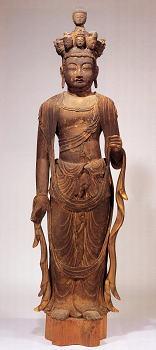 金剛山寺 木造十一面観音立像