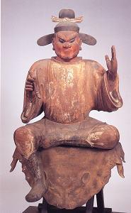 金剛山寺 木造司録坐像