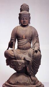 金剛山寺 木造虚空蔵菩薩坐像