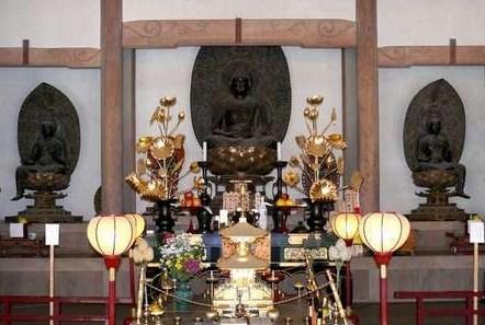 長岳寺本尊