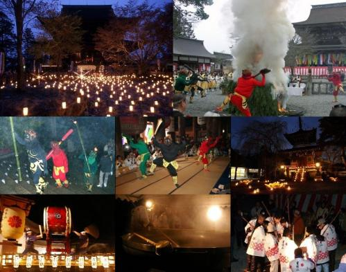 金峯山寺・鬼火の祭典