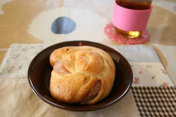 うずまきパン(桜あんバージョン)