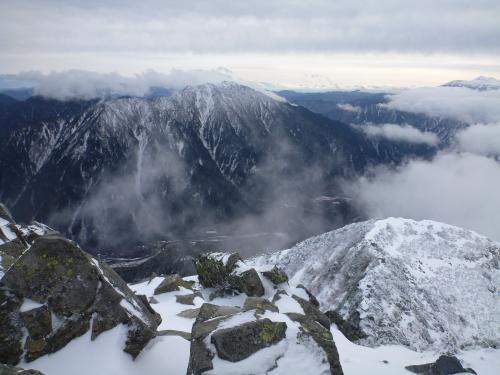 霞沢岳と上高地(2)