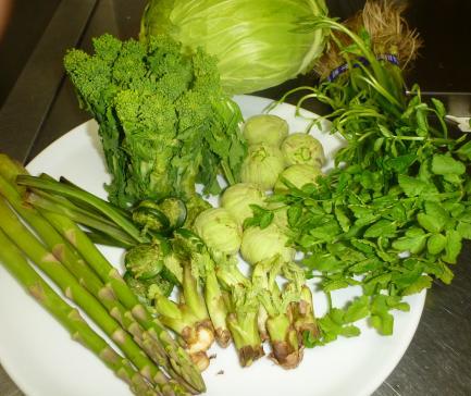 春野菜(2)