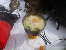 春野菜塩ラーメン(2)