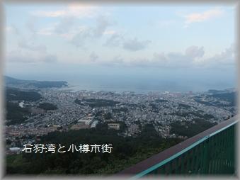 石狩湾と小樽市街