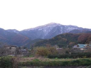 雪の大山 クリックで拡大