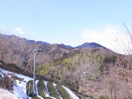 今日行った山