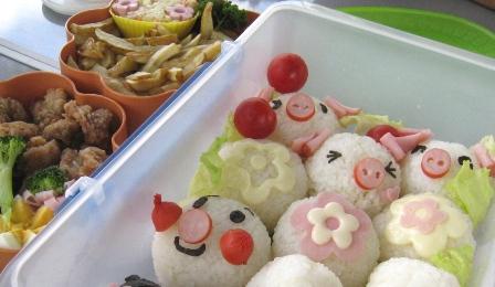 3匹の子豚お弁当