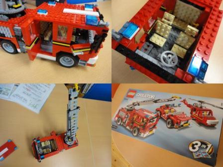LEGO消防車4
