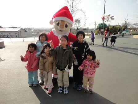 サーキットクリスマスキャラクター3