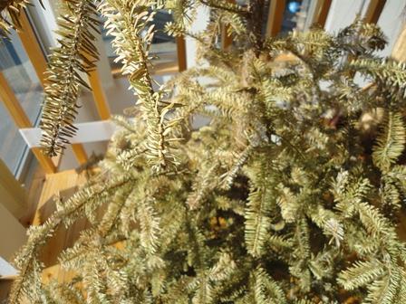IKEAクリスマスツリー終了2