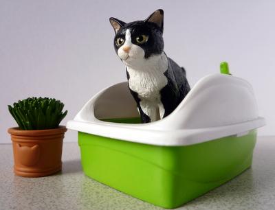 猫フィギュア1