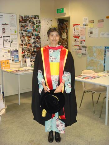 satomisan graduation