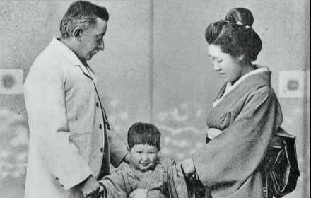 小泉八雲と妻小泉セツ