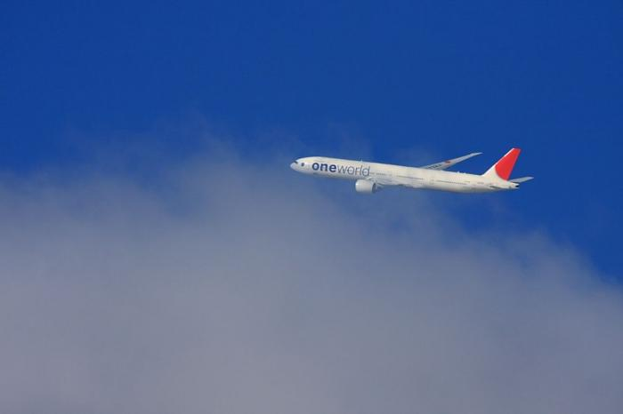 JAL B777-346ER JAL3002@エアフロントオアシス(by 40D with SIGMA APO300/2.8EX+APO TC2x)