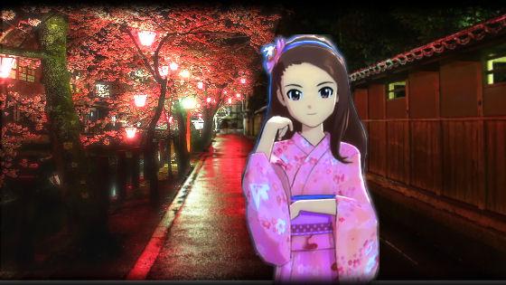 夜桜いおりん1