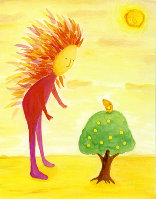 灯のなる樹