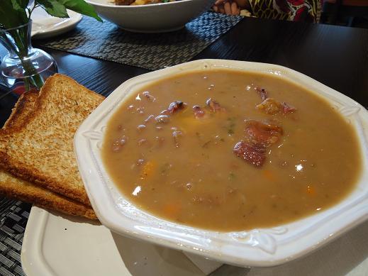 豚肉と豆の煮込み@ZARAN CAFE