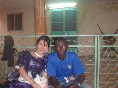 ニジェールでタバスキ。ムサと私