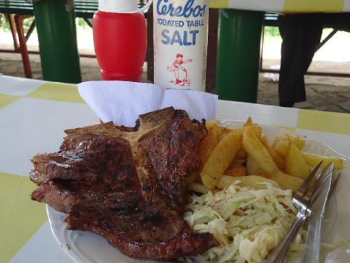 T-bone & Chipsm Lusaka, ZAMBIA
