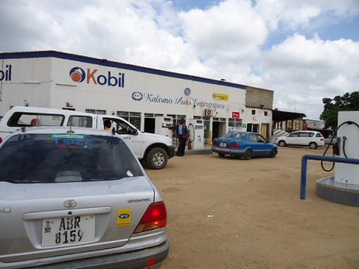 Gas station, Kalomo, ZAMBIA