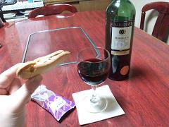 ワインと東京土産