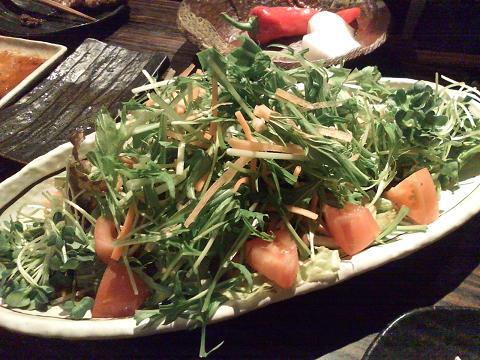 参のサラダ
