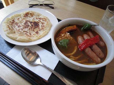 ソーセージカリースープ