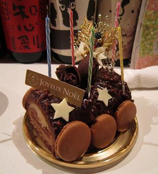 クリスマス改めバースディケーキ