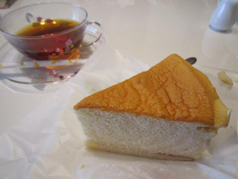 パパクのスフレチーズケーキ