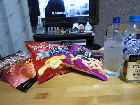 お菓子三昧ナイト