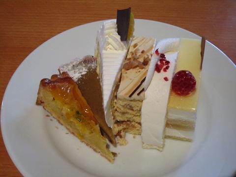 生ケーキ1皿目