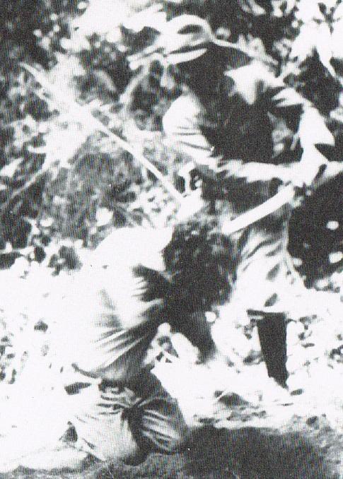 日本刀による斬首